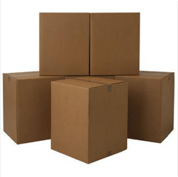 We provide box delivery and packing service as well