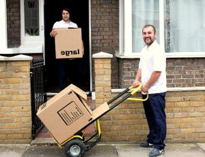 Professionally trained removals team